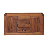 Shiro Walnut 2-Door 3-Drawer Sideboard