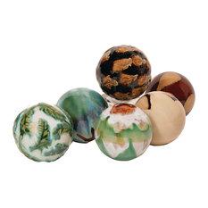 Decorative Orbs, 6-Piece Set