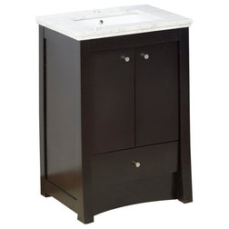 Transitional Bathroom Vanities And Sink Consoles by Posh House