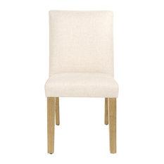 Hughes Dining Chair, Linen Talc