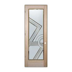 Sans Soucie Art Glass   Interior Glass Door Sans Soucie Art Glass Odyssey I  Negative
