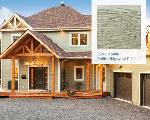 Lp canexel exterior colours for Prefinished siding