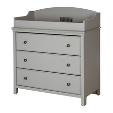 South S Cotton Candy Changing Table In Gray