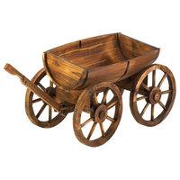 Apple Barrel Planter Wagon