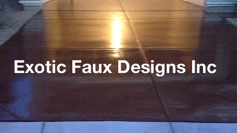 Exotic Faux Designs Inc work
