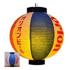 Durable Paper Lantern Japanese Style Restaurant Hanging Decor M
