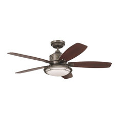 Emerson Ceiling Fans   Emerson Rockpointe Outdoor Ceiling Fan, Vintage  Steel, One Each