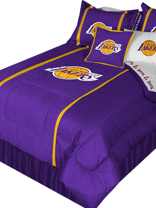 NBA Los Angeles Lakers Bedding and Room Decorations