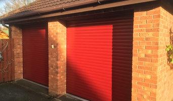 Two single garage doors