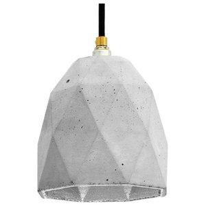T1 Triangle Pendant Light, Grey/Silver