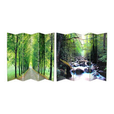 6-Panel Path of Life Room Divider