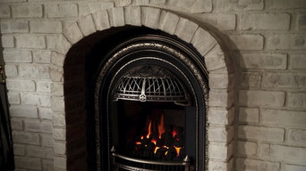Valor Windsor Arch gas fireplace insert sold and installed by Doctor Flue inc. c