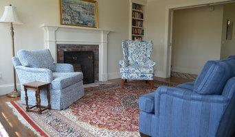 Transforming a plain den into a library