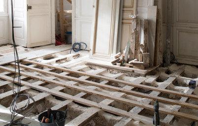 Проблема: Полы-батуты и другие тонкие места деревянных перекрытий