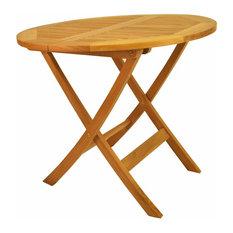 "Windsor 31"" Round Picnic Folding Table"