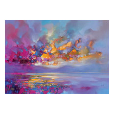 """Magenta Refraction"" Canvas Print by Scott Naismith, 120x85 cm"