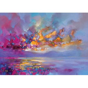 """Magenta Refraction"" Canvas Print by Scott Naismith, 120x85 cm"