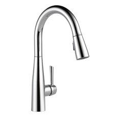 Delta Essa Single Handle Pull-Down Kitchen Faucet, Chrome, 9113-DST