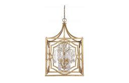 Antique Gold Blakely 6-Light Full Sized Lantern Pendant