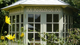 Pavillon Jahrhundertwende Stil