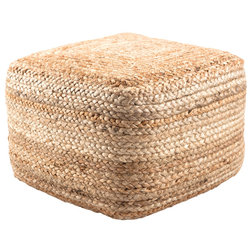 Beach Style Floor Pillows And Poufs by Homesquare
