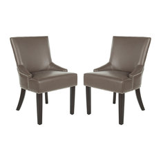 Safavieh   Safavieh Lotus Side Chair, Set Of 2, Clay   Dining Chairs
