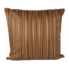 Fall Stripe 90/10 Duck Insert Pillow With Cover, 22x 22