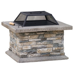 Traditional Fire Pits by GDFStudio