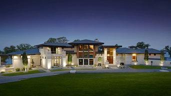 Modern Prairie Lake Estate