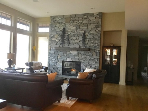 What To Do With Niche Beside Fireplace