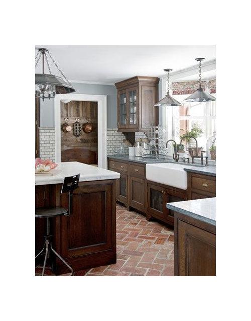 Eighteenth Century Agrarian Business Kitchen Cabinet Improvements