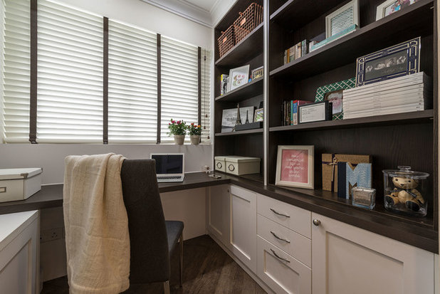 Fusion Home Office & Library by Aiden T