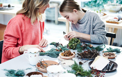 Christmas Houzz: A Natural, Nordic Yuletide in Aarhus, Denmark