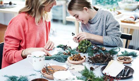 Houzz Tour: Naturlig, nordisk jul hos familien i Aarhus