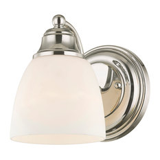 Somerville Wall Sconce, Chrome