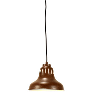 Cape S18 Brown Steel Pendant Light