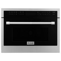 "ZLINE 24"" Convection Microwave Oven with Speed Cook in Stainless Steel"