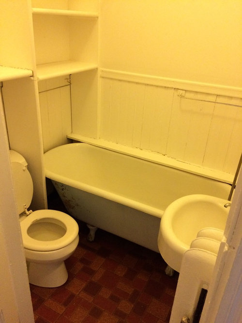 Very Small Full Or 34 Bath Layout
