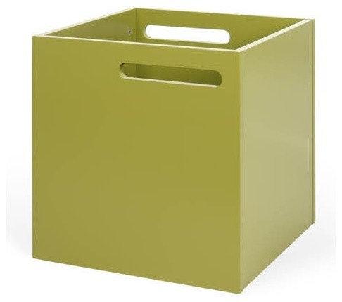 Berlin Storage Box In Green   Storage Bins And Boxes