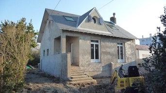Rénovation sur la côte Vendéenne: valorisation du patrimoine familial