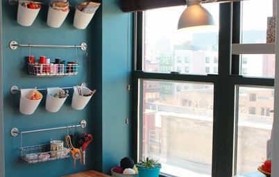 Room of the Day: A Craft Nook for Sewing and Crocheting