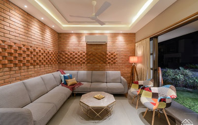 Ahmedabad Houzz: This Villa's Colour Palette is an Ode to Corbusier
