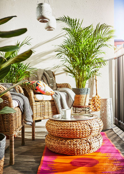How To Decorate A Small Balcony Houzz