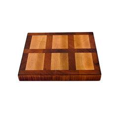 Garden Chef Oak Walnut Wood Cutting Board