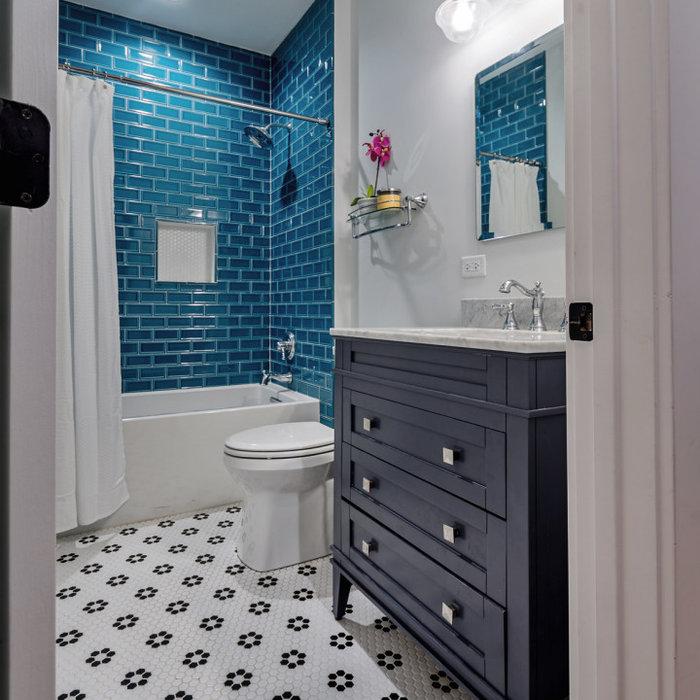 Playful Guest Bathroom