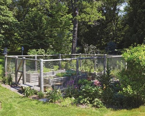 garden enclosure. Custom Post With Top Rail Garden Enclosure - Home Fencing And Gates S