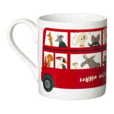 London Bus Ceramic Mug