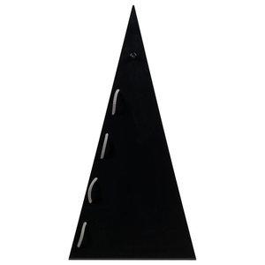 Pyramid Steel Table Lamp, Black
