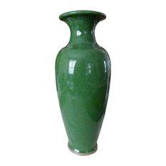 Crackle Vase, Jade