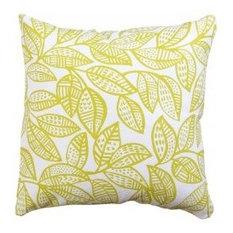 - Ku-Ring-Gai Cushion Cover, Chartreuse - Decorative Cushions
